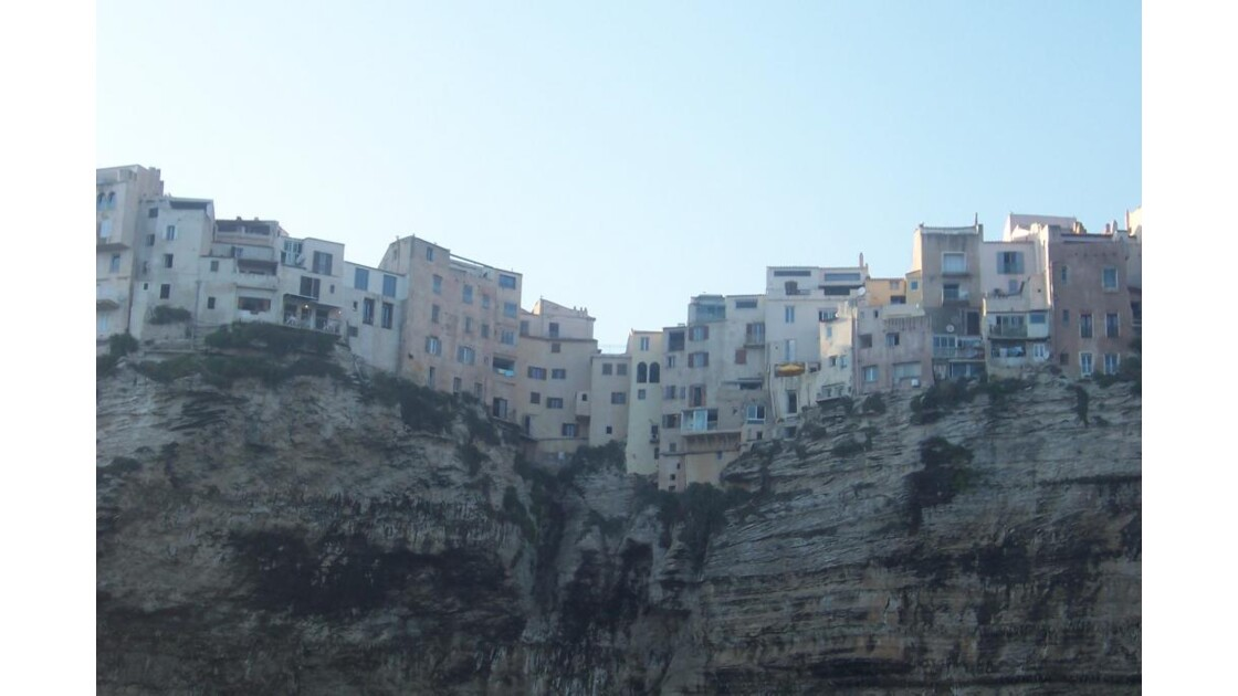 falaises de bonifaccio