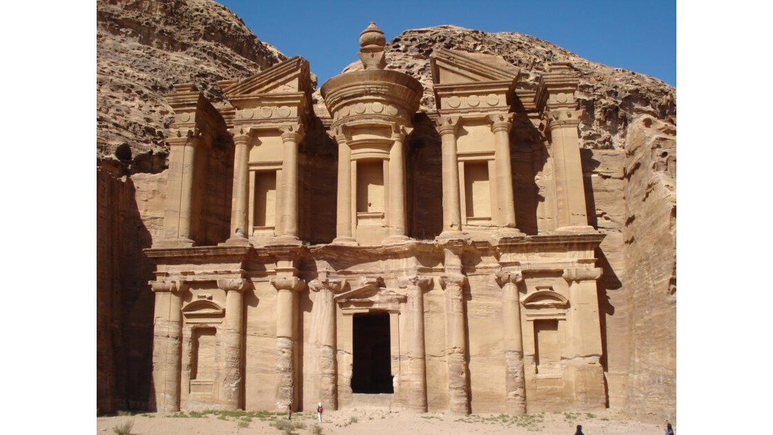 Le Monastère, Pétra, Jordanie, mai 2008.