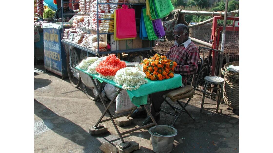 marchand de fleurs