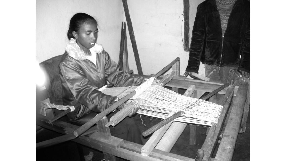 atelier de tissage d'Ambositra