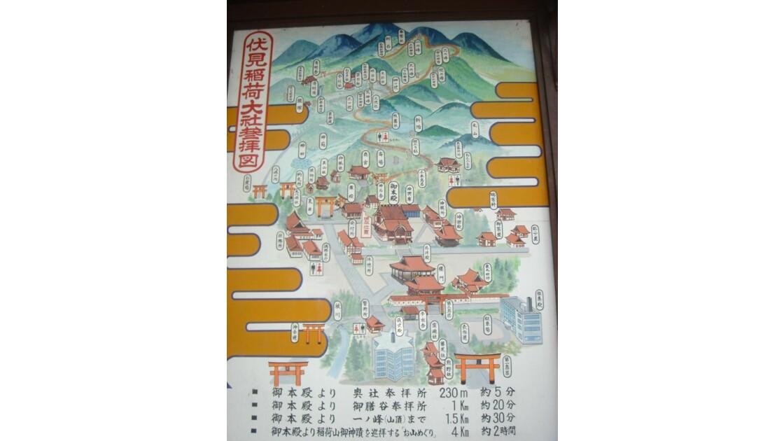 Plan Fushimi Inari