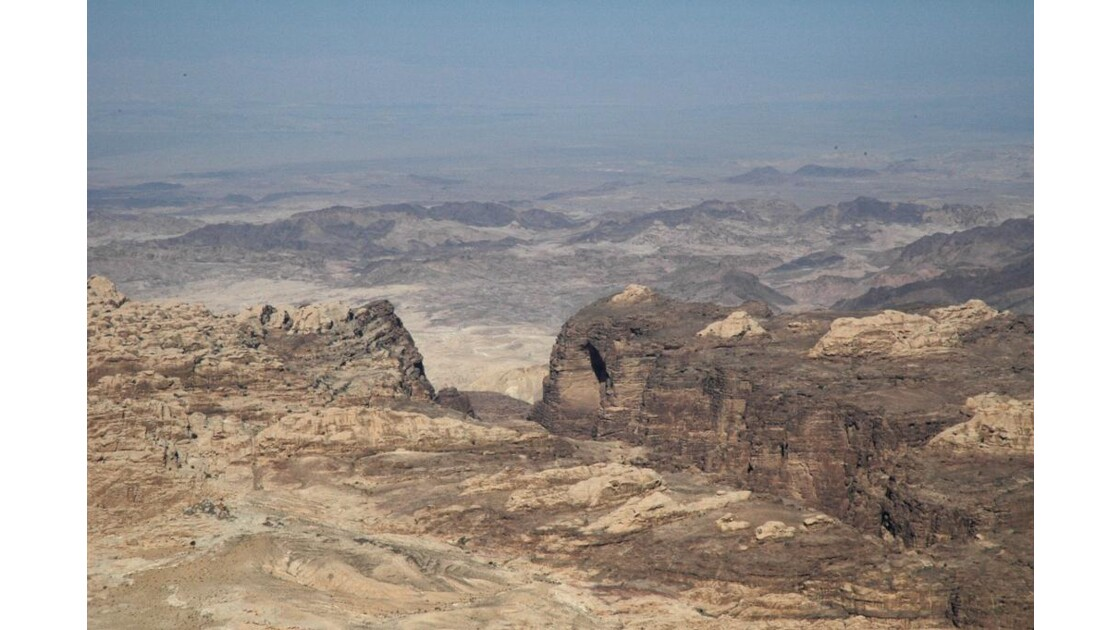 Vue sur le Wadi Rum.