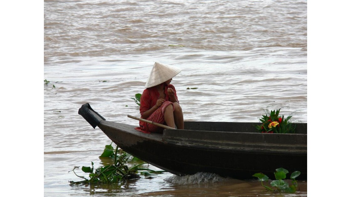 Promenade sur le Mekong.