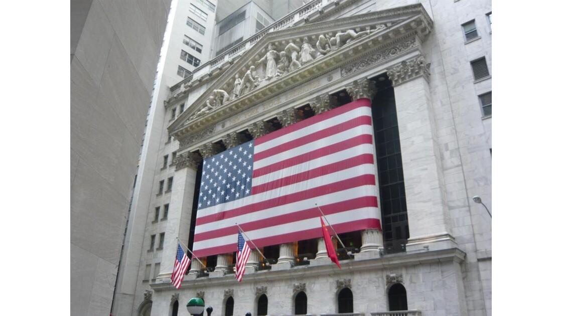 la Bourse, quartier de Wall Street