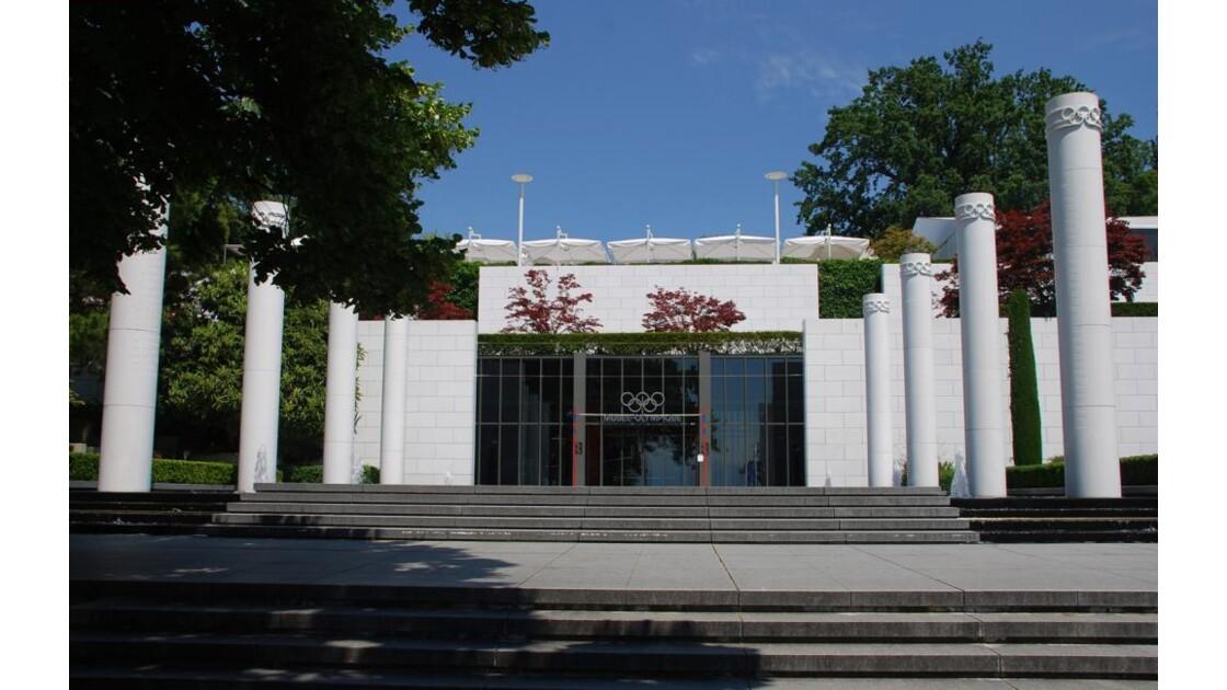entrée du musée olympique