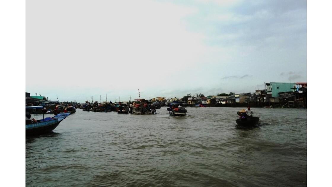 Marché Flottant de Cai Rang -