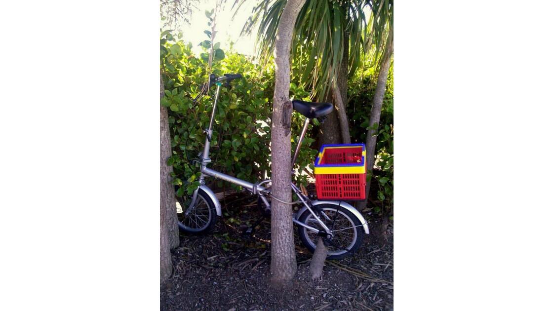 RAYMONDE,son vélo à Cherbourg !!
