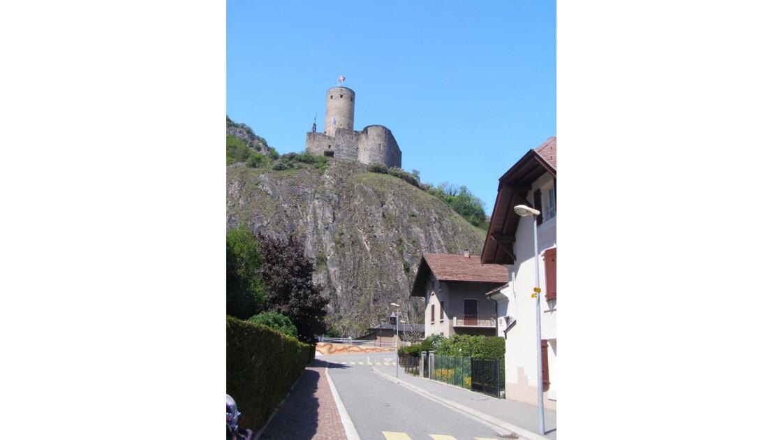 Vue depuis Martigny