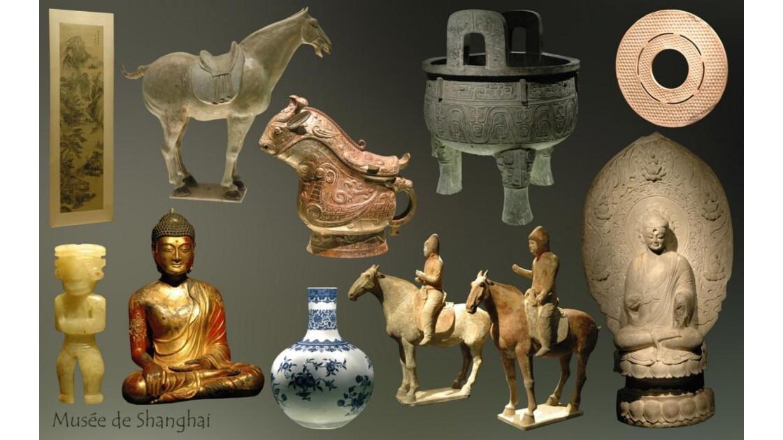 Musée de Shanghai (montage)