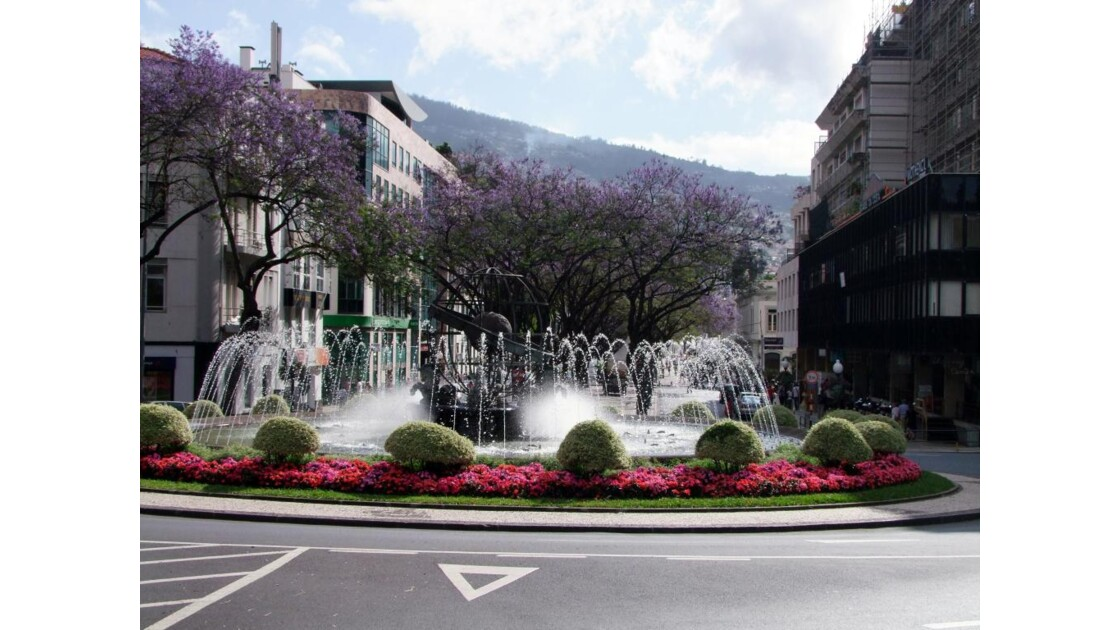 Madère Funchal Praça do Infante