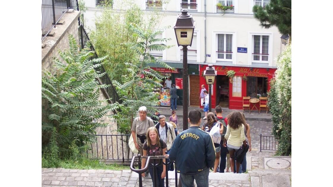 Pffff la vie de touriste à Montmartre!