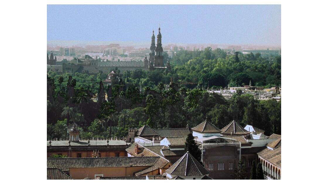 Vue sur Séville