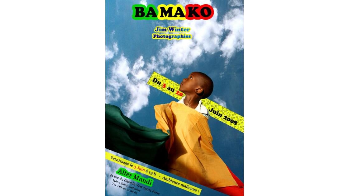 Affiche Expo Photo Bamako