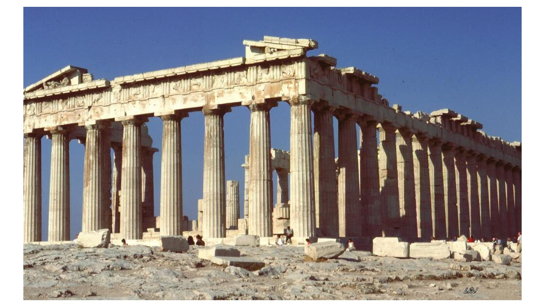 Le Parthénon.