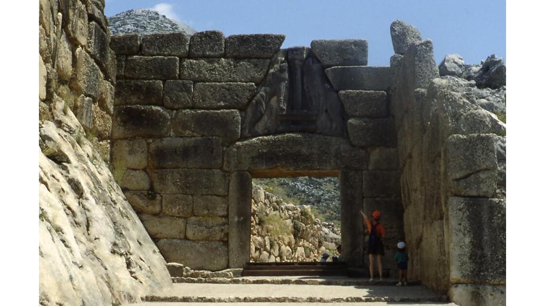 Porte des lions (Mycènes)