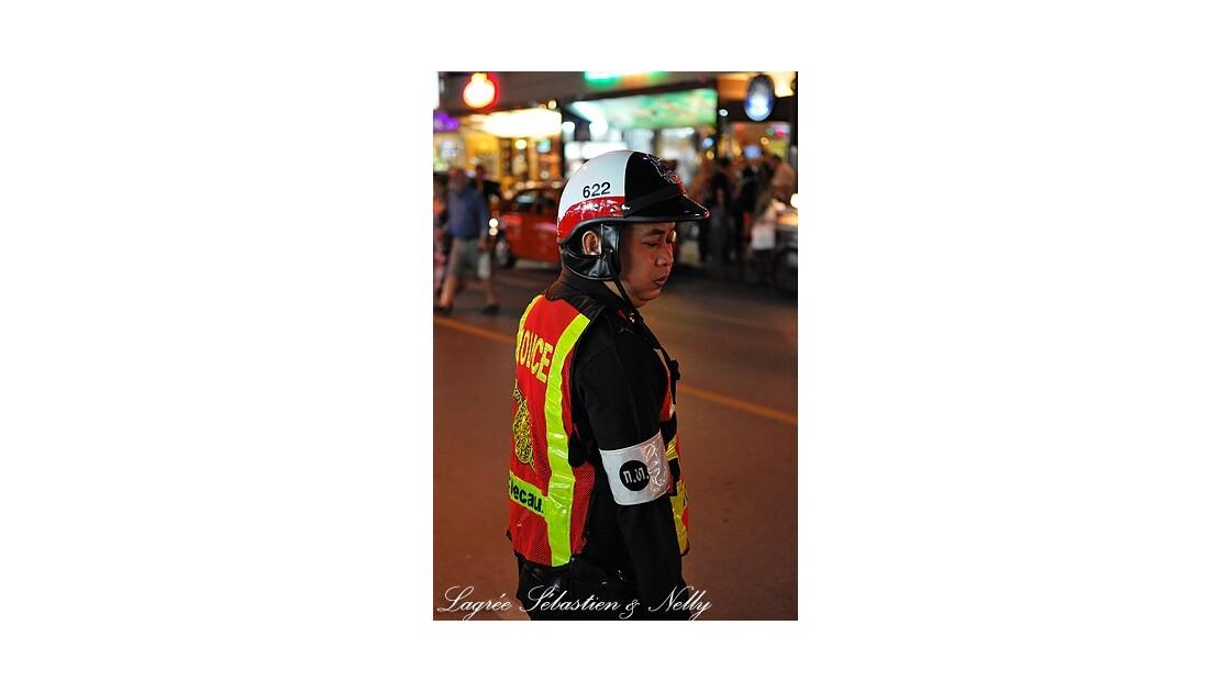 Bangkok, policier
