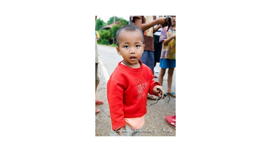 Enfant, Nord de la Thaïlande