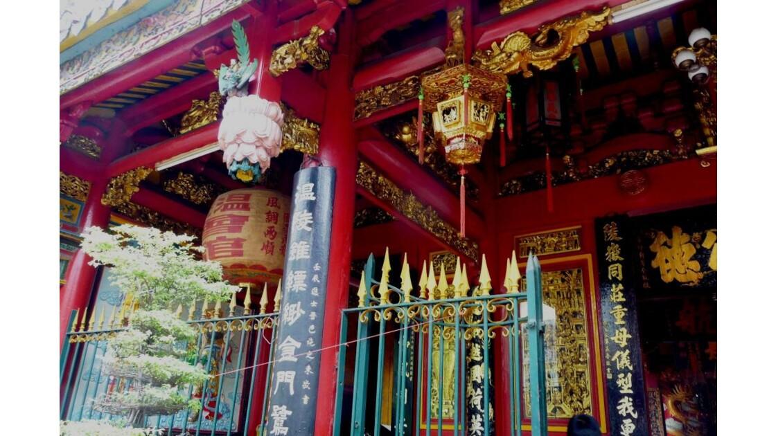 Entrée du temple .
