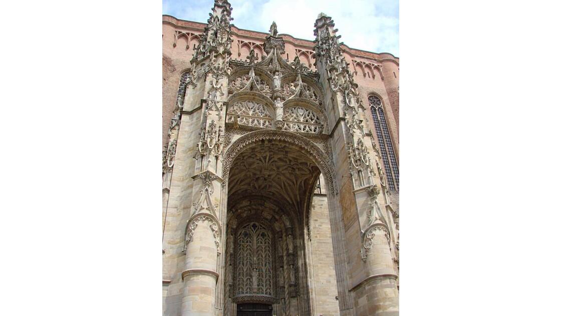 Ste Cécile -portail