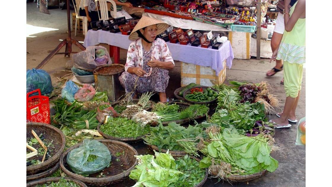 Au marché de Hoi An