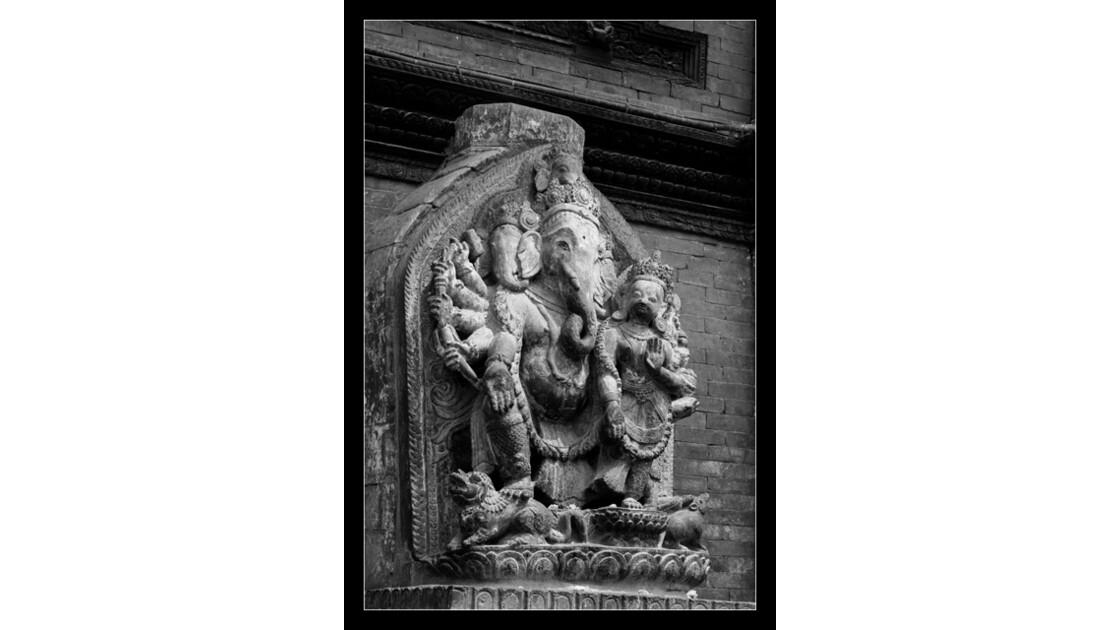 Statue de Ganesh, Durbar Square de Pata