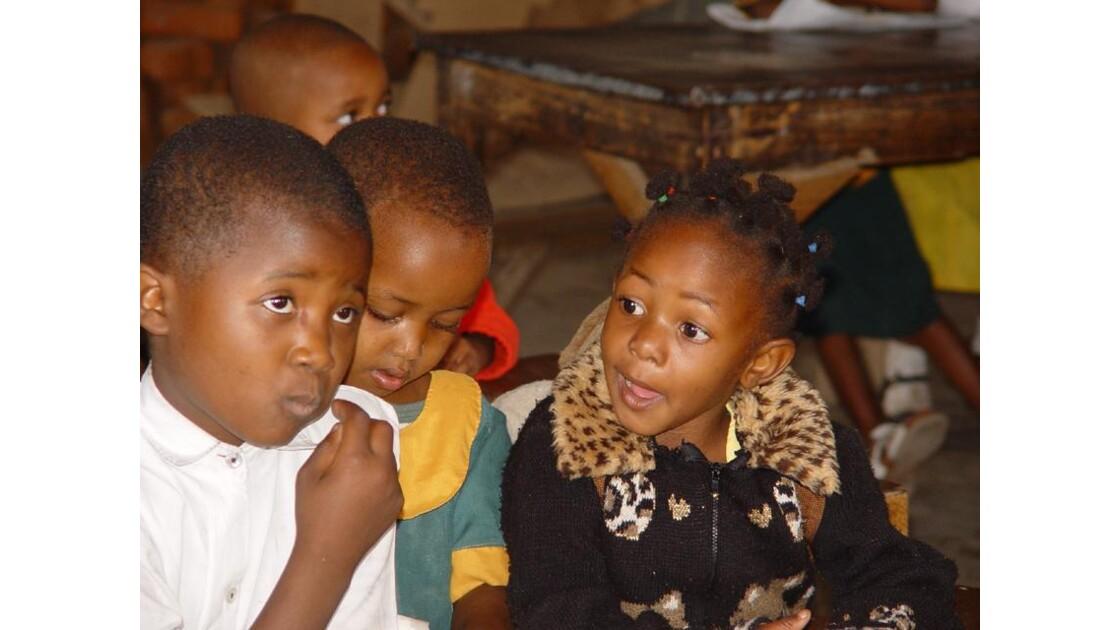 A l'école maternelle de Mto Wa Mbu