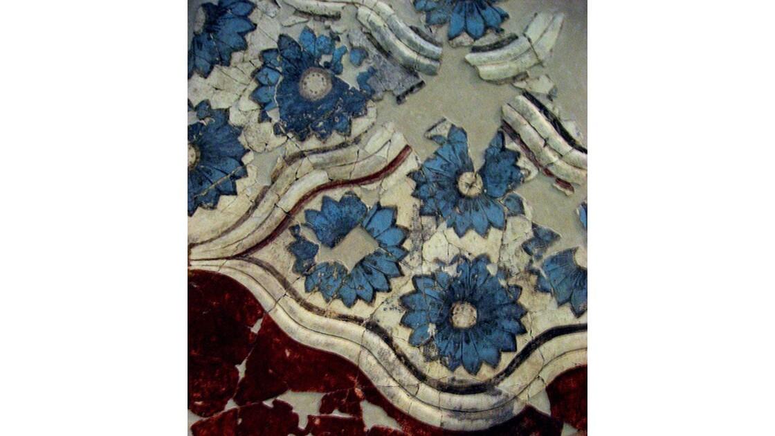 Fresque d'Akrotiri, composition florale