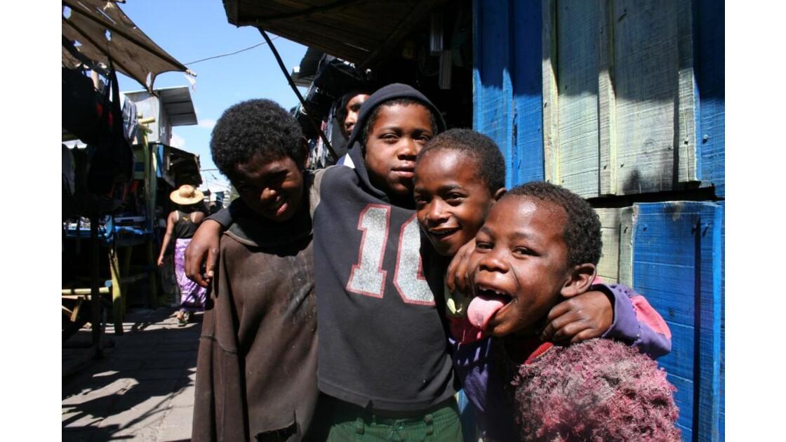 enfants des rue de Tana