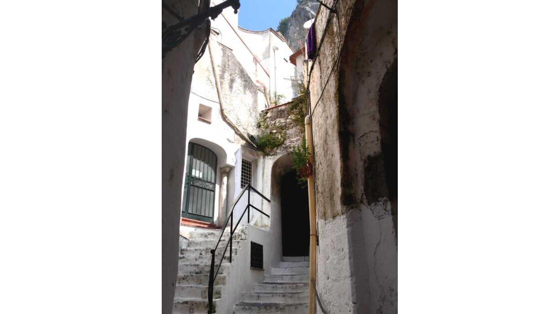 d'Amalfi à Ravello par les marches