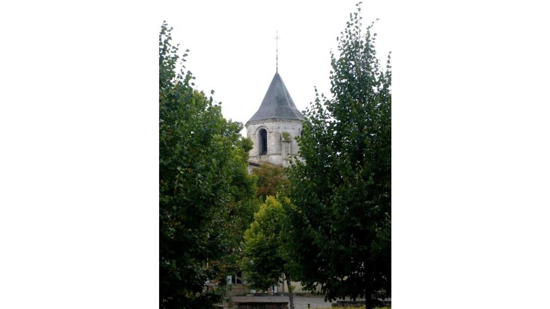 l'église vue du parc