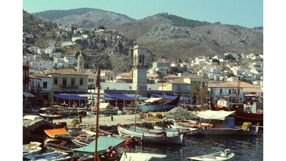 Hydra (ville et port).