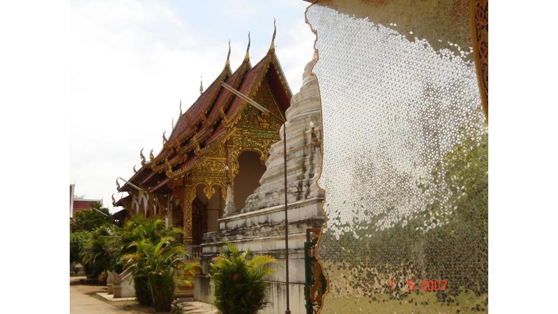 Un temple sur la route vers Lampang