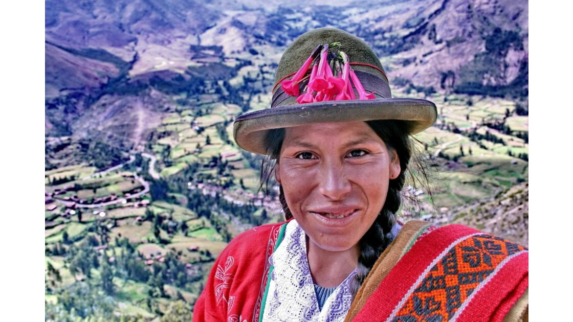 Indienne, Vallée Sacrée - Pérou
