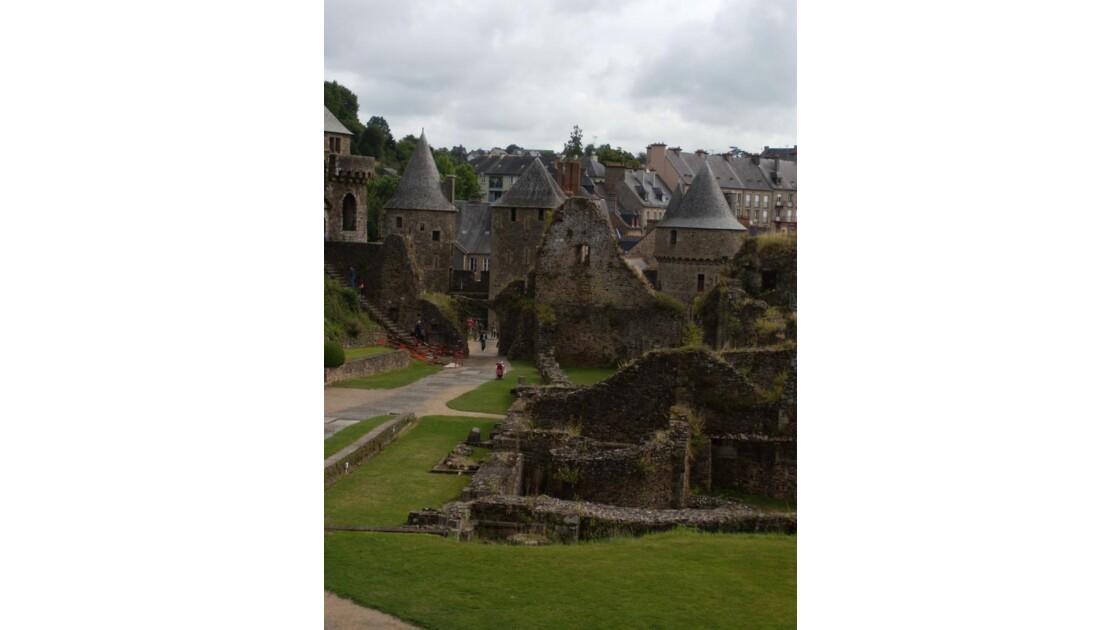 Fougères : la visite du château