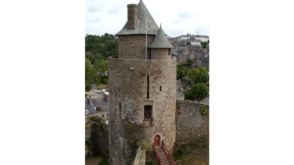 Tour du Château de Fougères