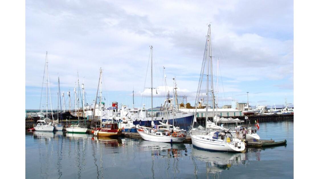 Reykjavik   sortie du port