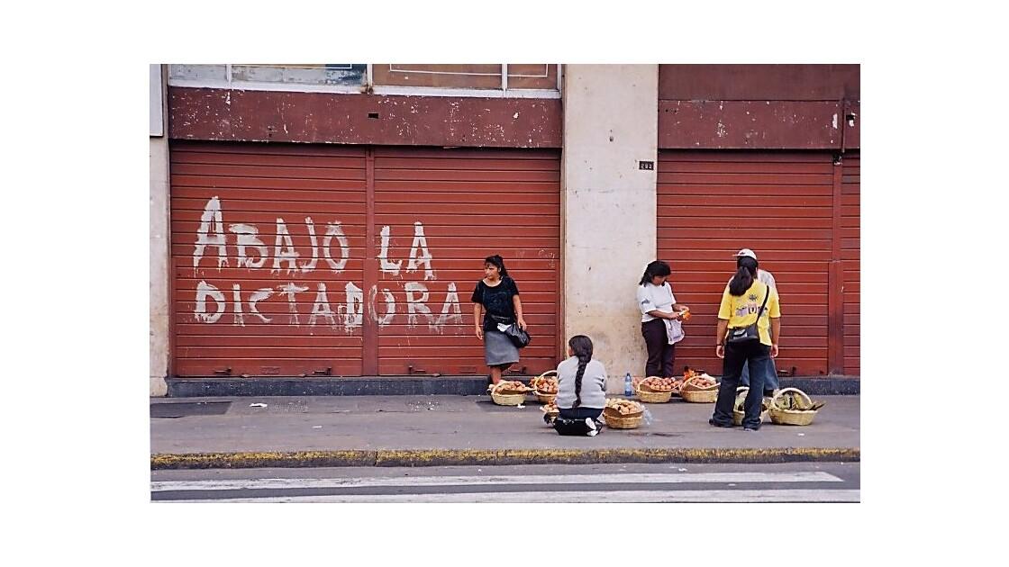 rebellion à Lima