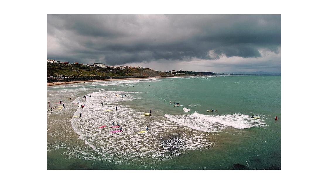 Biarritz : la plage du Port Vieux