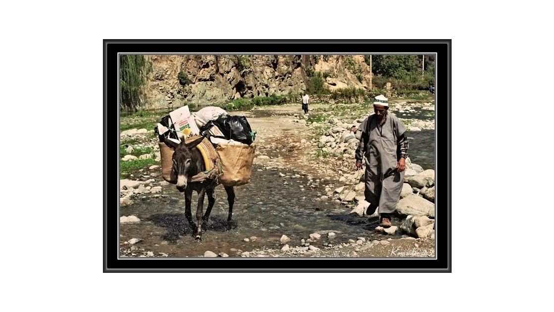 A dos d'âne, (Maroc)