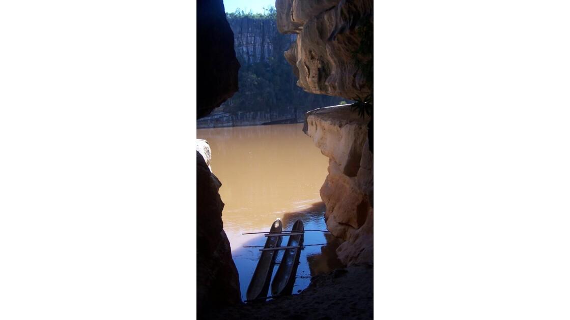 incursion dans une grotte