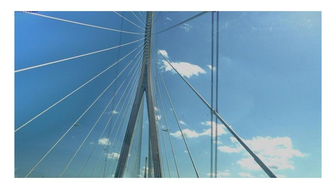 Drisses - Pont de Normandie !