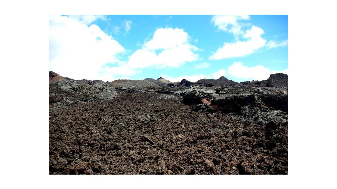 Volcan Chico au Galapagos (Isabella)