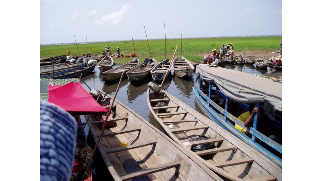 Embarcadère pour Ganvié