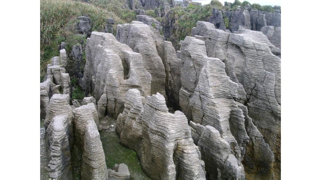 Pancakes rocks, Nouvelle Zélande
