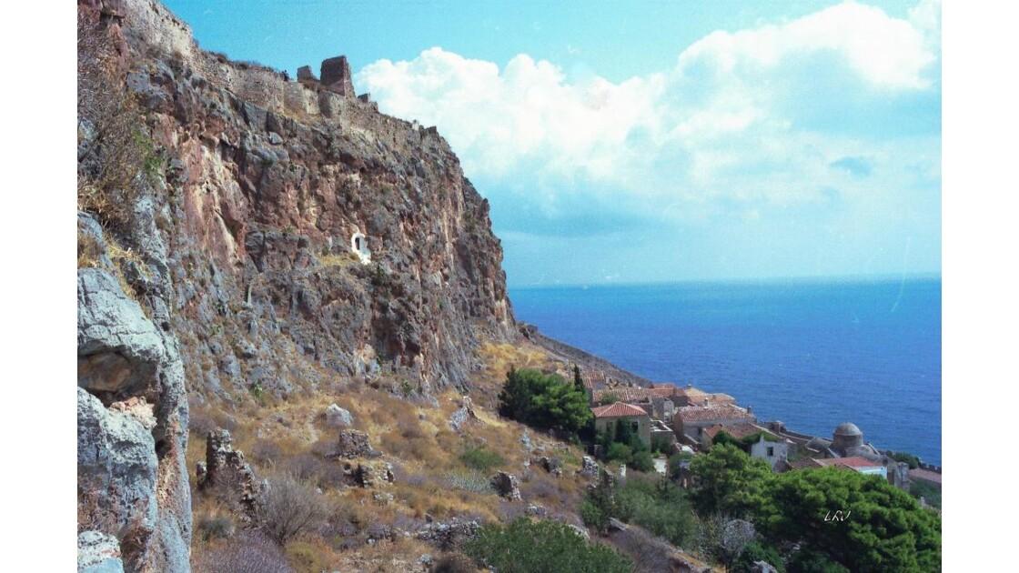 Ruines de Mistra.(Péloponnèse).
