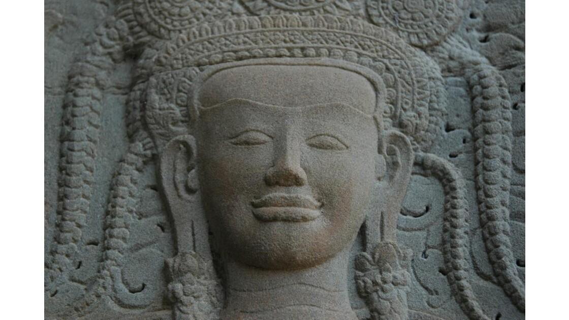 Angkor Vat, visage d'Apsara