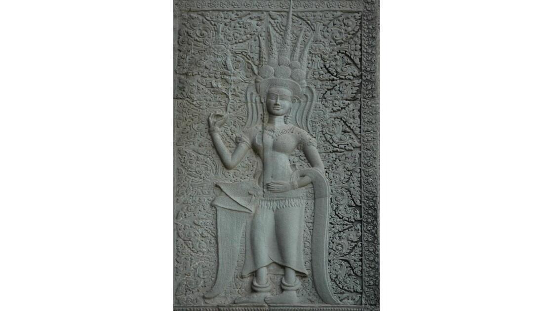 Angkor Vat, apsara