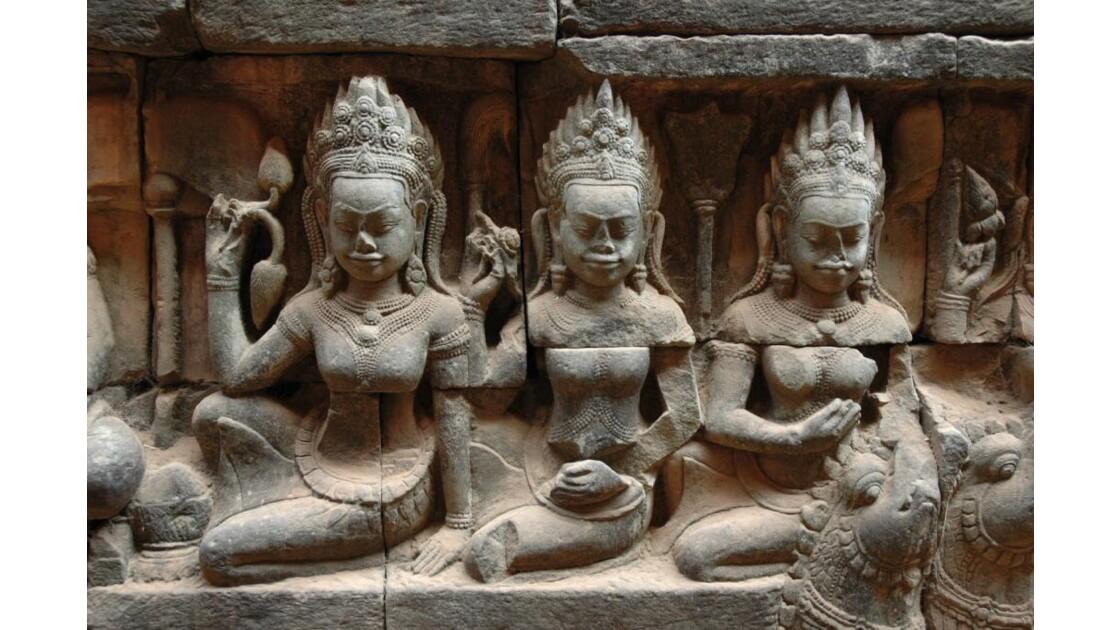 Angkor, la Terrasse du Roi Lépreux