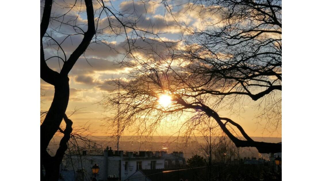 Soir à Montmartre