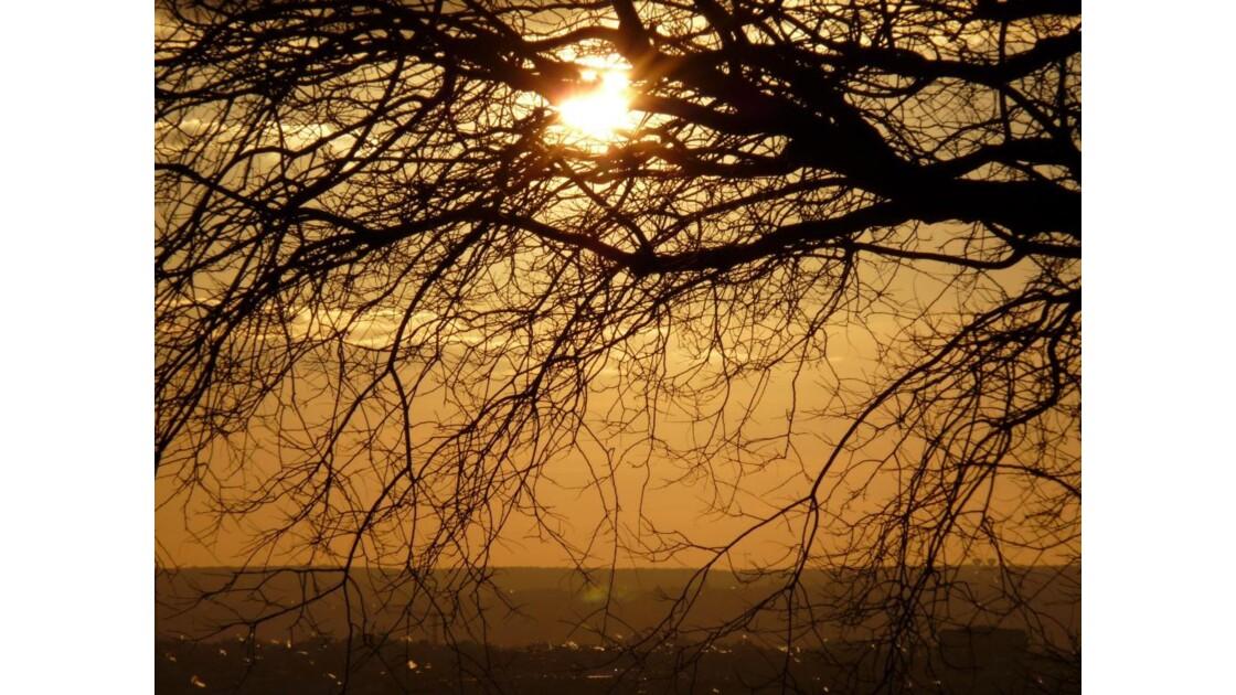 Coucher de soleil à Paris